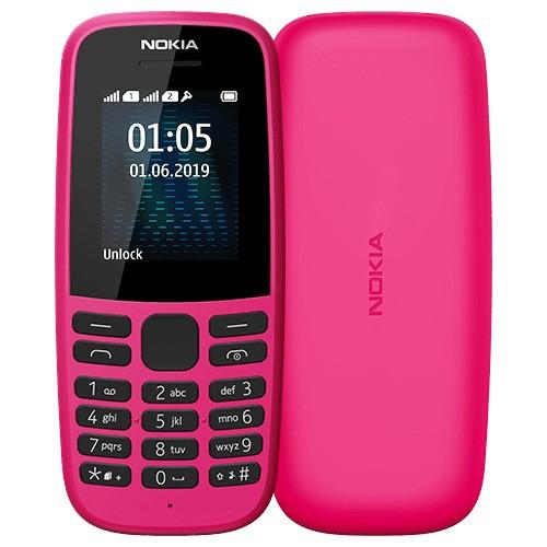 New Nokia 105 Single Sim (2019) – Pink