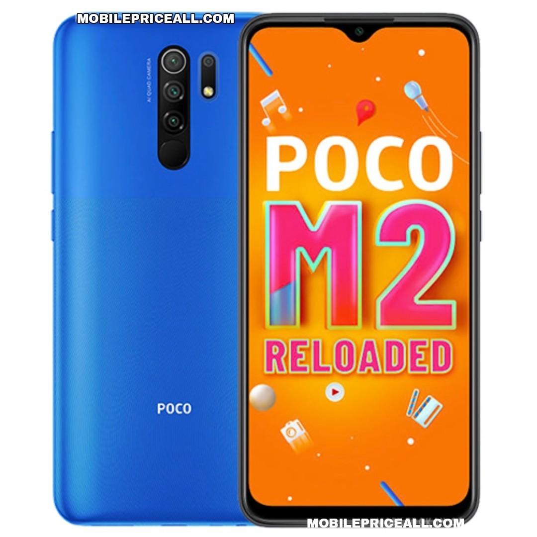Xiaomi Poco M2 Reloaded Price in Bangladesh (BD)